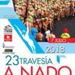 Cartel-travesia-playa-santiago