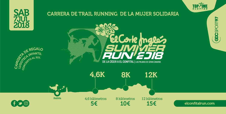 V El Corte Inglés Summer Run El Confital